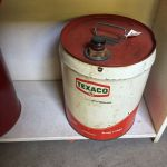 TEXACO 5 gallon Oil Can